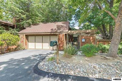 Washoe County Single Family Home Back On Market: 676 W Riverview Circle