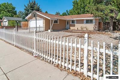 Carson City Single Family Home For Sale: 718 Sonoma St.