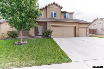 Fernley Single Family Home Active/Pending-Loan: 1511 Crestview