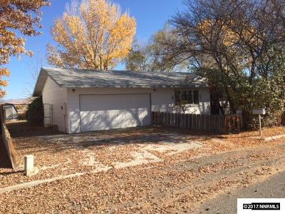 Yerington Single Family Home Active/Pending-Loan: 312 Leona Ave