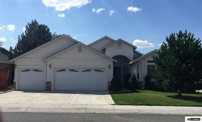 Fernley Single Family Home For Sale: 612 Wedge