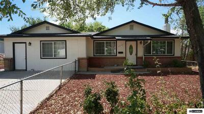 Carson City Single Family Home Active/Pending-Loan: 1316 Monte Rosa Drive
