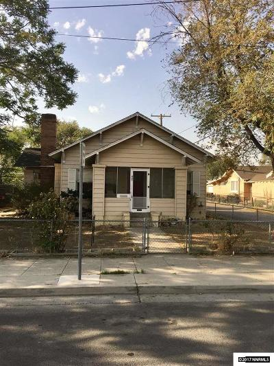 Fallon Single Family Home For Sale: 445 W Center Street
