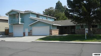 Carson City County Single Family Home For Sale: 109 Simone Ave