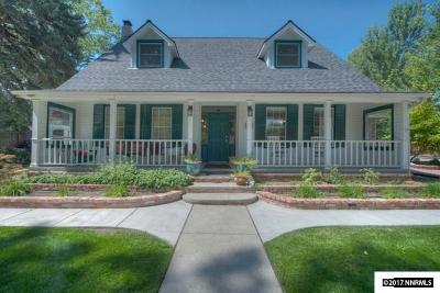 Carson City County Single Family Home Active/Pending-House: 710 S Minnesota Street
