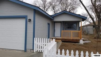 Carson City County Single Family Home For Sale: 1769 Nichols Lane