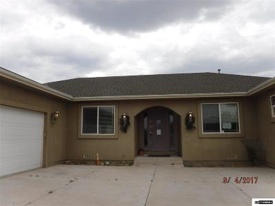 Carson City County Single Family Home Auction: 812 Coffey Drive