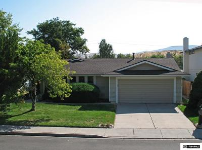 Sparks Single Family Home Active/Pending-Loan: 1403 Pinewood Drive