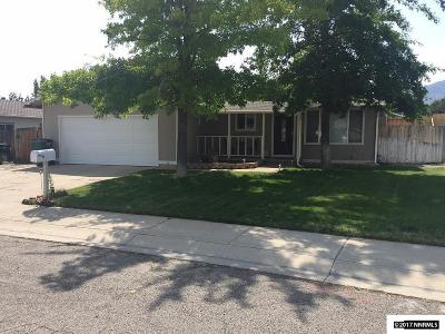 Carson City Single Family Home Active/Pending-Loan: 3336 Plymouth
