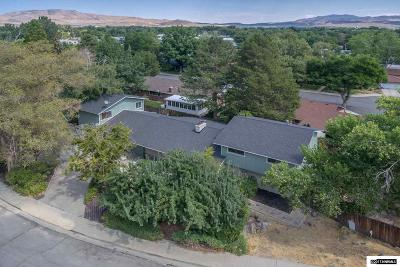 Carson City County Single Family Home Price Reduced: 211 S Ormsby
