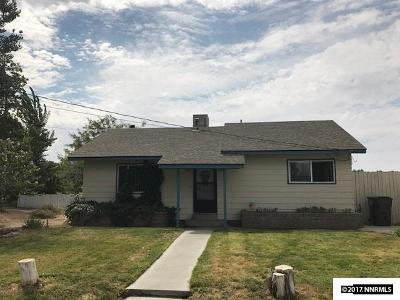 Fallon Single Family Home For Sale: 1185 Soda Lake Road