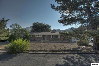 Washoe County Single Family Home Price Reduced: 14540 Rim Rock