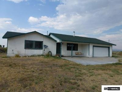 Yerington Single Family Home For Sale: 1308 State Rte 208