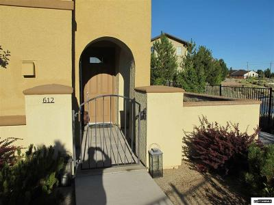 Washoe County Condo/Townhouse Active/Pending-Call: 17000 Wedge Parkway #612