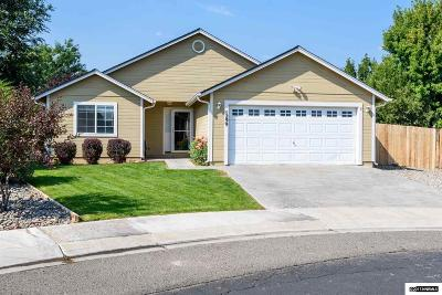 Gardnerville Single Family Home Active/Pending-House: 1299 W Aylesbury Ct