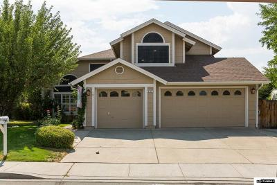 Sparks Single Family Home Active/Pending-House: 4565 Whitney