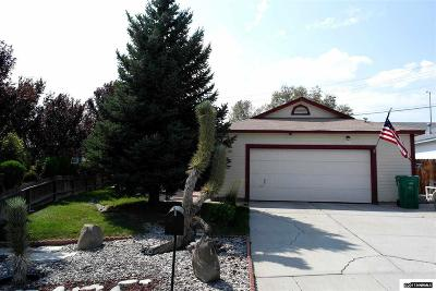 Sparks Single Family Home Active/Pending-Loan: 7185 Lindsey Ln