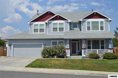 Washoe County Single Family Home Active/Pending-Loan: 16164 Galena Meadows