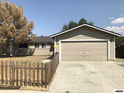 Carson City County Single Family Home For Sale: 406 W Applegate Way
