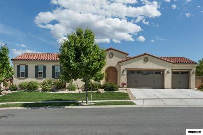 Washoe County Single Family Home Price Reduced: 13490 Damonte View Lane
