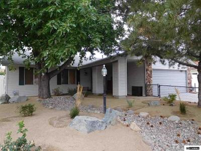 Carson City Single Family Home Active/Pending-Call: 1309 Colorado