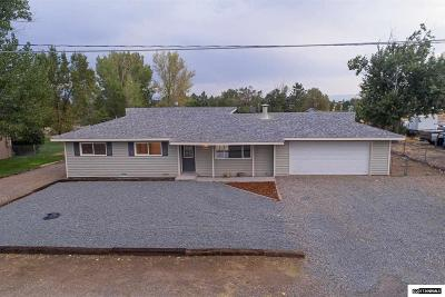 Gardnerville Single Family Home For Sale: 1362 Jobs Peak