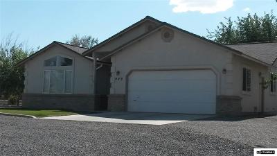 Fernley Single Family Home For Sale: 449 Crimson Rd