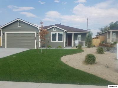 Fernley Single Family Home For Sale: 1877 Canal Drive/Lot 33