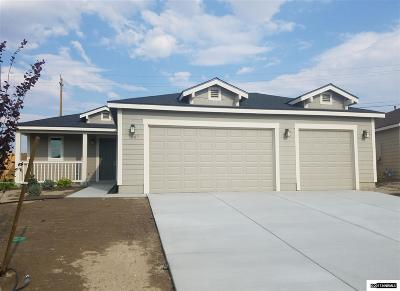 Fernley Single Family Home For Sale: 1867 Canal Drive/Lot 32