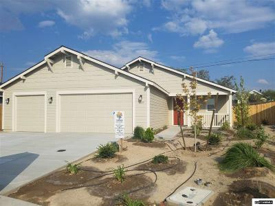 Fernley Single Family Home For Sale: 1857 Canal Drive/Lot 31