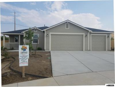 Fernley Single Family Home For Sale: 1847 Canal Drive/Lot 30