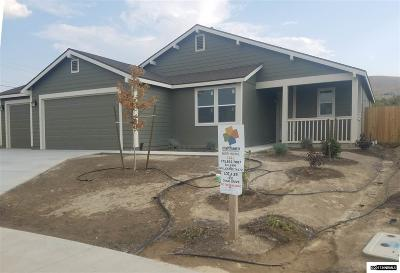 Fernley Single Family Home For Sale: 1837 Canal Drive/Lot 29