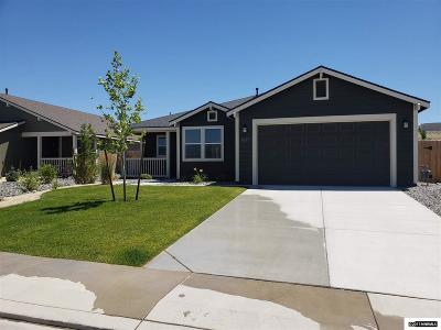 Fernley Single Family Home For Sale: 1827 Canal Drive/Lot 28