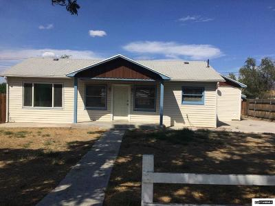Fernley Single Family Home Active/Pending-Loan: 280 Vine Street