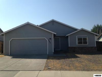 Carson City Single Family Home Active/Pending-Loan: 3603 Haystack Dr.