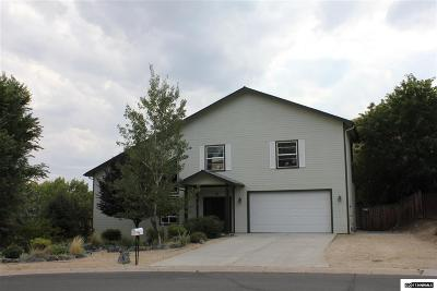 Carson City County Single Family Home For Sale: 5 Savage Circle