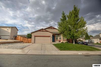 Sparks Single Family Home For Sale: 595 Sonora Pass Ct