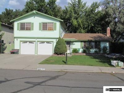 Sparks Single Family Home For Sale: 684 Marracco