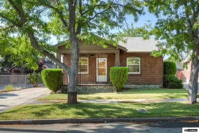 Washoe County Single Family Home Active/Pending-Loan: 528 Reno Avenue