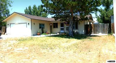 Gardnerville Single Family Home Active/Pending-Loan: 1404 Berry Lane