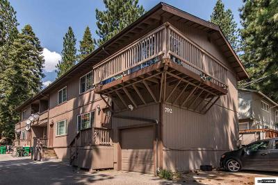Incline Village Multi Family Home For Sale: 792 Northwood Blvd.