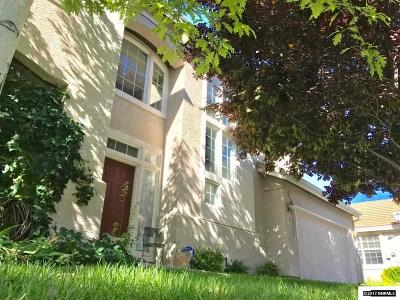 Washoe County Single Family Home Active/Pending-Call: 1177 Scenic Park Terrace