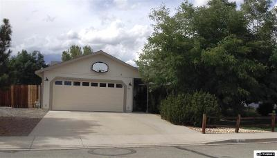 Washoe County Single Family Home Active/Pending-Loan: 67 Badger Creek Court