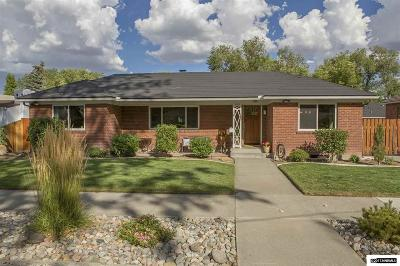 Washoe County Single Family Home Active/Pending-Call: 180 Circle Dr.