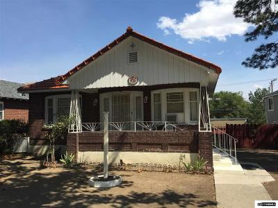 Washoe County Single Family Home For Sale: 936 Plumas Street