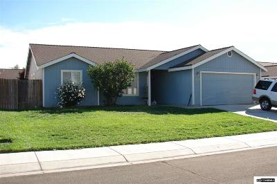 Fernley Single Family Home For Sale: 1519 Wrangler Ln