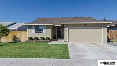 Fernley Single Family Home Active/Pending-Call: 156 Westward Ln