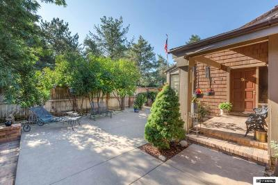 Washoe County Single Family Home For Sale: 410 W Riverview Circle