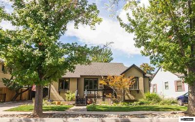 Reno Single Family Home Active/Pending-Call: 1289 Nixon Ave