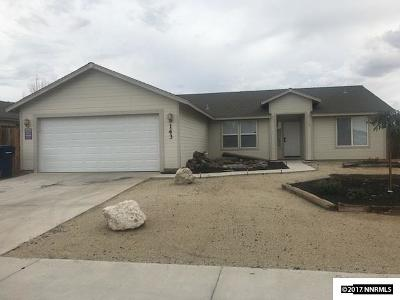 Fernley Single Family Home For Sale: 143 Shadow Mountain Drive